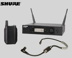 SHURE ヘッドウォーン ワイヤレスセット 2.4GHz帯  GLX-D14R / SM35