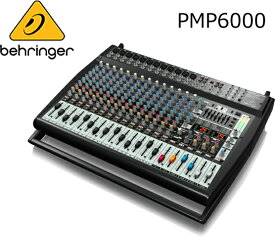 BEHRINGER/べリンガー パワード・ミキサー PMP6000 EUROPOWER