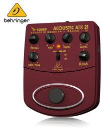 Behringer(ベリンガー)ダイレクトボックス ADI21 V-TONE ACOUSTIC