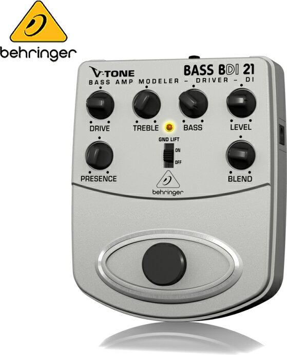 Behringer(ベリンガー)ダイレクトボックス BDI21 V-TONE BASS DRIVER DI