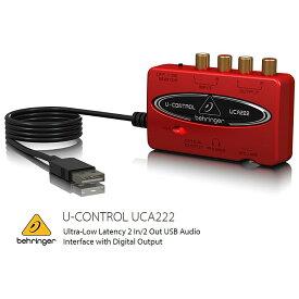 BEHRINGER/べリンガー USBオーディオインターフェース UCA222 U-CONTROL