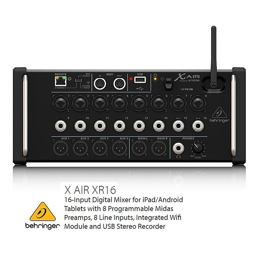BEHRINGER/べリンガー 16入力デジタル・ミキサー XR16 X AIR