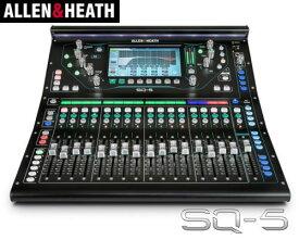 ALLEN&HEATH(A&H)/アレン&ヒース(アレヒ) デジタルミキサー SQ5 デジ卓 デジミキ 48ch 96kHz SQシリーズ
