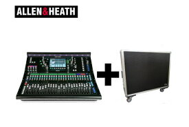 ALLEN&HEATH(A&H)/アレン&ヒース(アレヒ) デジタルミキサー SQ6 + 専用ケース デジ卓 デジミキ 48ch 96kHz SQシリーズ