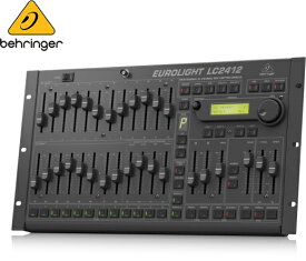 BEHRINGER(ベリンガー)LC2412 V2 EUROLIGHT 照明卓 ミキサー DMX512