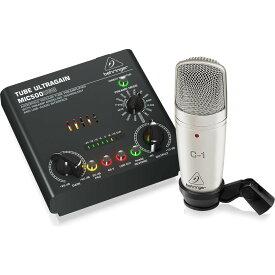 BEHRINGER/べリンガー VOICE STUDIO(レコーディングバンドルセット/C-1 + MIC500USB)