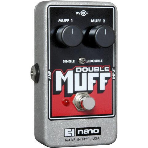 【Electro-Harmonix】Double Muff(ダブルマフ) ディストーション/ファズ【EHX/エレクトロ・ハーモニクス】