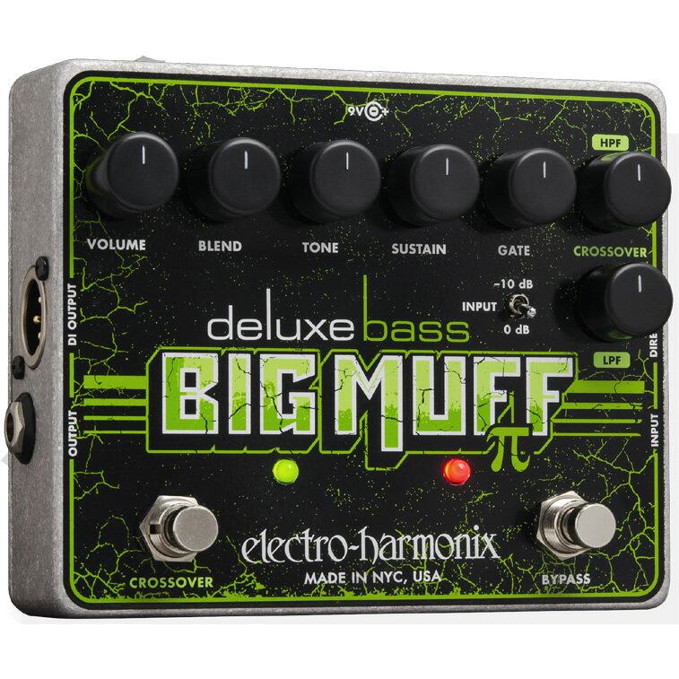 【Electro-Harmonix】Deluxe Bass Big Muff Pi(デラックスベースビッグマフ) ベース用ディストーション/ファズ【EHX/エレクトロ・ハーモニクス】