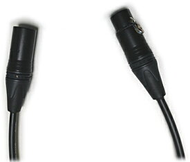 マイクケーブル 0.3m カナレ×ノイトリック 黒金メッキ マイクコード CANARE EC003-B
