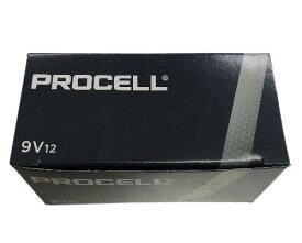 ダース買いでお得!DURACELL-PROCELL 9V006P アルカリ電池 1箱(12個)デュラセル/プロセル