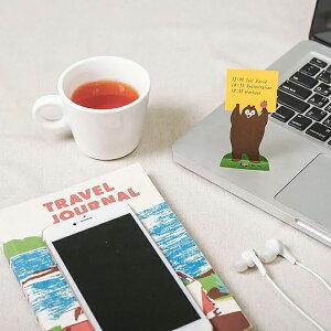 【i-Marker】Animal Sticky Note(付箋紙) / 全2種 メモ お洒落 かわいい メモスタンド メモ書き ノート メモ帳 見出し インテリア 雑貨 動物 文具 ギフト フセン タックインデックス 付箋 ふせん
