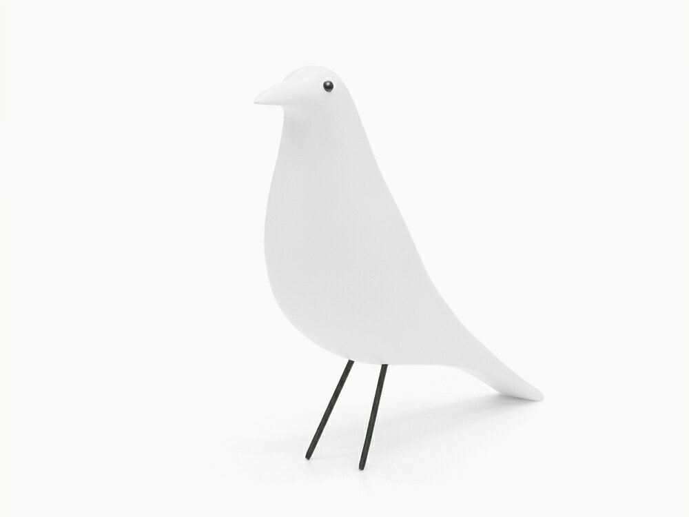 イームズ ハウスバード ホワイト オブジェ チャールズ&レイ・イームズ Eames House Bird Charles & Ray Eames ミッドセンチュリー デザイナーズ リプロダクト 北欧 インテリア 雑貨 鳥 干支置物 酉年 トリ とり 小物 ディスプレイ 可愛い お洒落 母の日 ギフト