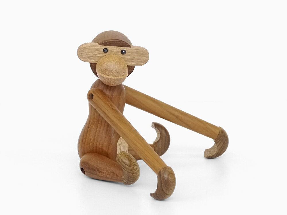 【あす楽対応】カイ・ボイスン モンキー(小) Kay Bojesen Monkey 木製玩具 オブジェ フィギュア 木のオブジェ インテリア 人形 猿 置物 北欧雑貨 リプロダクト 干支 縁起物 申年 母の日 ギフト 父の日 プレゼント