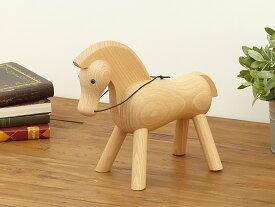 カイ・ボイスン ホース(大) Kay Bojesen Horse ビーチ材 木製玩具 オブジェ 北欧雑貨 フィギュア 木のオブジェ インテリア 人形 ウマ 馬 うま 置物 乗り物 リプロダクト ウォルナット 干支 縁起物 プレゼント ギフト