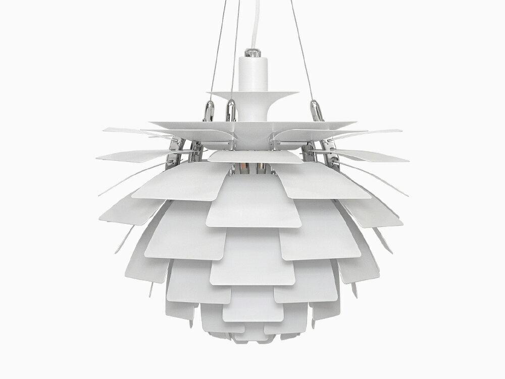 PH 480 ホワイト ペンダントライト ポールヘニングセン Poul Henningsen デザイナーズ ペンダントランプ 天井照明 間接照明 シーリングライト リプロダクト インテリア照明