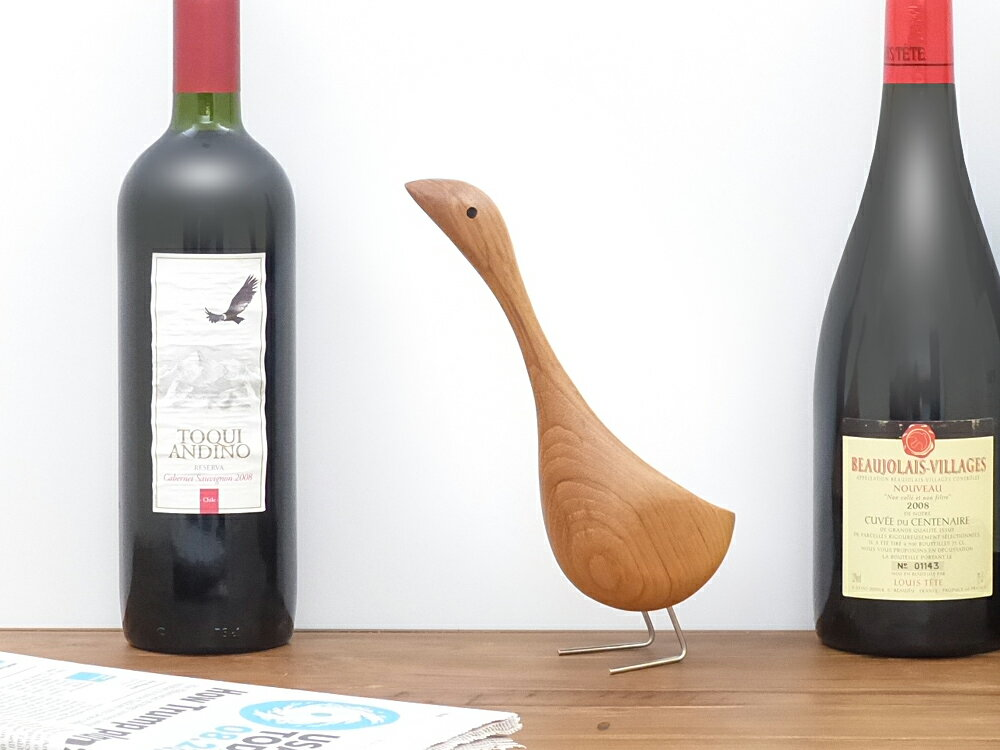 マザーグース Mother Goose 木製玩具 オブジェ フィギュア 木のオブジェ インテリア 人形 鳥 ガチョウ がちょう 置物 北欧雑貨 ヴィンテージ 干支 縁起物 母の日 ギフト 父の日 プレゼント バード
