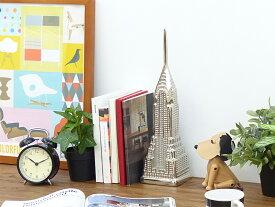 クライスラービル オブジェ Chrysler Building Silver Ornament アンティーク レトロ モダン スカルプチャー ディスプレイ オーナメント 置物 アメリカ ニューヨーク 建物 インテリア 父の日 プレゼント