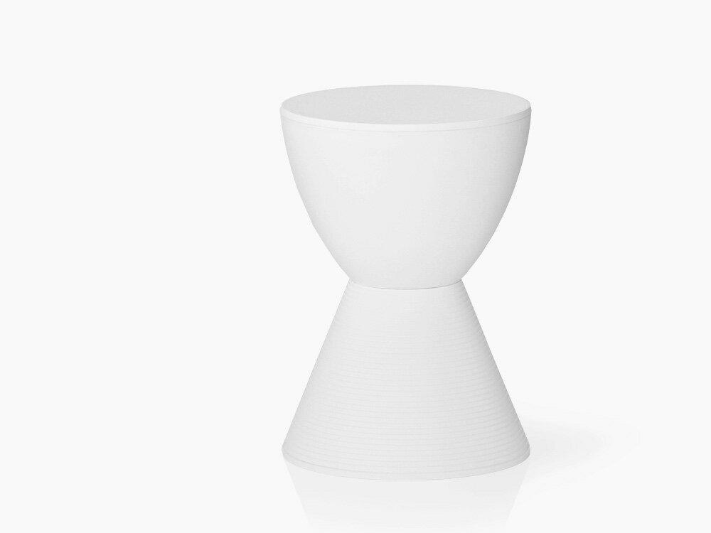 プリンスアハ スツール ホワイト フィリップ・スタルク Philippe Starck 収納 チェア リプロダクト 腰掛け ダイニングチェア オットマン フットスツール 椅子 玄関イス ベンチ Prince AHA