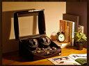 【あす楽対応】ワインディングマシーン 4本巻 ゼブラウッド × ブラック Abies(アビエス) 4連 腕時計 ワインディング…