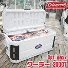 【お取り寄せ】【送料無料】コールマンOptimaxxクーラー/200QT【容量約190L】キャスター付きクーラーボックスバーベキュー保冷大容量大型アウトドアキャンプ釣りUVカード加工抗菌加工Coleman200-QuartOptimaxxCooler