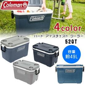 【在庫有り】【Coleman】コールマン ハード クーラー / 52QT 容量約49L クーラーボックス 保冷 キャンプ アウトドア 釣り ハードクーラー バーベキュー レジャー ビーチ ピクニック Coleman 52 Quart Hard Cooler, Blue Nights
