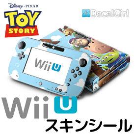 【セール!】decalgirl ディズニー トイストーリー スキンシール Wii U 用 《Toy Story》 ニンテンドー Wii U デコシール 本体 コントローラー バズ ウッディ