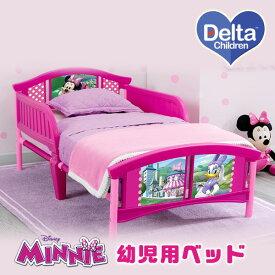 デルタ ディズニー ミニーマウス 幼児用ベッド トドラーベッド キッズ 子供用 幼児用 ベッド 子供用家具 子供部屋 Delta Children Disney Minnie Mouse Plastic Toddler Bed