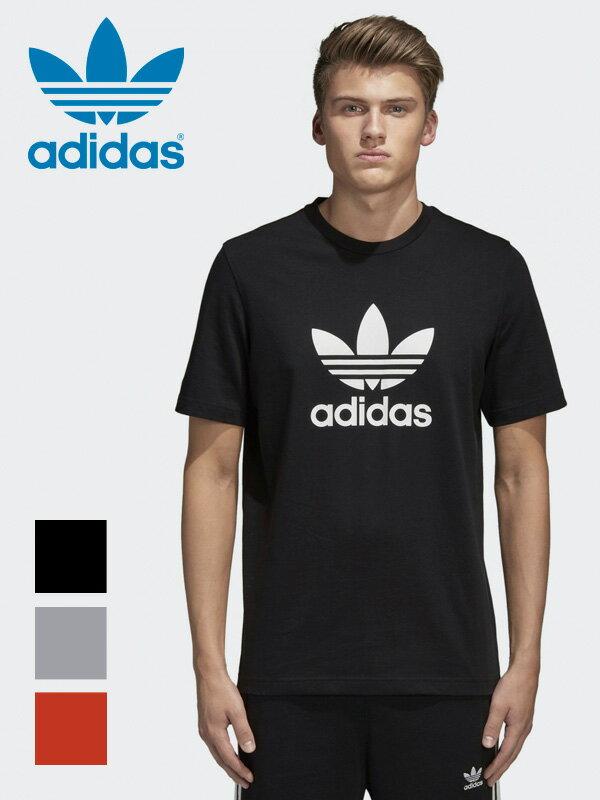 【ゆうメール便送料無料】adidas ORIGINALS アディダス Tシャツ メンズ レディース ユニセックス オリジナルス TREFOIL 三つ葉 半袖 2018年モデル 2018SS 2018春夏 ロゴ ペア ストリート ダンス EKF76 CW0709 CY4574 CX1894 ホワイトデー ギフト プレゼント ラッピング