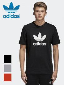 【ゆうメール便送料無料】adidas ORIGINALS アディダス Tシャツ メンズ レディース ユニセックス オリジナルス TREFOIL 三つ葉 半袖 2018年モデル 2018SS 2018春夏 ロゴ ペア ストリート ダンス EKF76 CW0709 CY4574 CX1894 敬老の日 プレゼント ギフト ラッピング