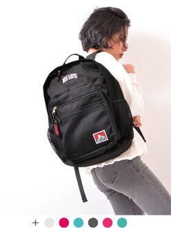 BEN DAVIS本戴比思帆布背包上学高中生女子漂亮的大容量女士人小孩名牌通勤帆布背包包30L背包日包中学生大学生BDW-9200母亲节礼物包礼物