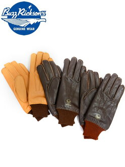 Rickson BUZZ RICKSON'S gloves gloves a-10 leather goat leather Oriental Enterprise BR01221