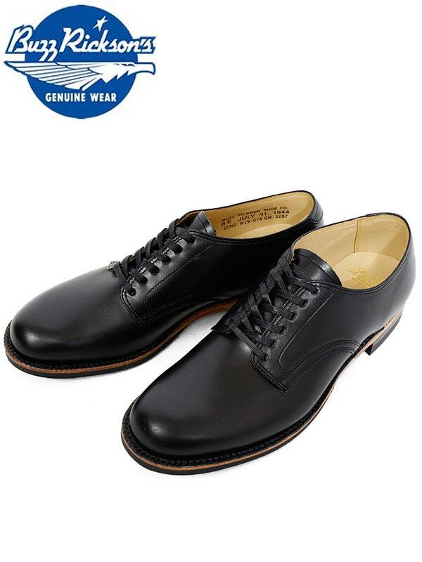 ウィリアム・ギブソン William Gibson バズリクソンズ BUZZ RICKSON'S レザー サービス シューズ ブーツ 革靴 ブラック メンズ レディース 日本製 東洋エンタープライズ BR02146 父の日 ギフト プレゼント ラッピング
