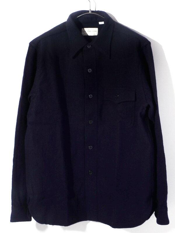 BUZZ RICKSON'S バズリクソンズ シャツ メンズ レディース ユニセックス 長袖 ブランド CPO TYPE C.P.O. Chief Petty Officers Blue Flannel Shirts NAVY DEPARTMENT 日本製 東洋エンタープライズ ウール メルトン BR24961 父の日 プレゼント ギフト ラッピング
