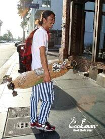 COOKMAN クックマン シェフパンツ chef pants メンズ レディース ユニセックス 男女兼用 おしゃれ かわいい 大きいサイズ Chef Pants Wide Stripe イージーパンツ バギーパンツ カジュアル ワイドストライプ コックマン 231-83833 ホワイトデー プレゼント ラッピング