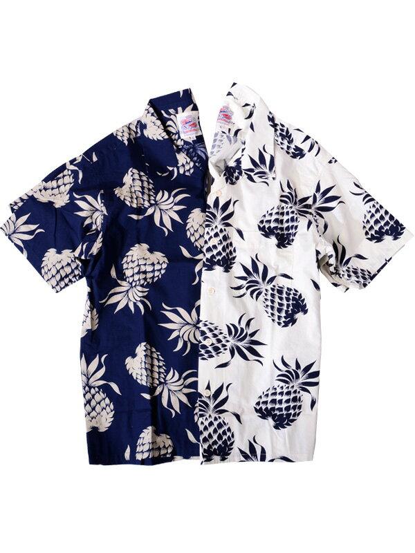 サンサーフ SUN SURF デューク・カハナモク DUKE KAHANAMOKU 2019 アロハ アロハシャツ パイナップル メンズ レディース ユニセックス DUKES PINEAPPLE S/S COTTON OPEN SHIRT 東洋エンタープライズ 日本製 地上より永遠に DK37811