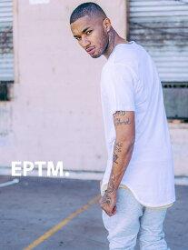 【ゆうメール便送料無料】 EPTM エピトミ Tシャツ メンズ レディース ユニセックス 半袖 無地 OG LONG TEE ロング丈 カットソー 大きいサイズ ロングカット アメリカ製 Made in USA EP5060 夏休み プレゼント ギフト ラッピング
