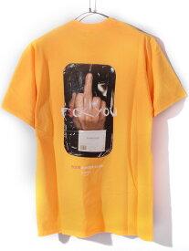 【ゆうメール便送料無料】FOUR FINGER CLUB フォーフィンガークラブ 4 FINGER CLUB Tシャツ メンズ レディース ユニセックス 半袖 ブランド 大きいサイズ 5-4FINGER 指 F$CK YOU ストリート カルチャー 5-4FINGER-Y 新生活 ギフト プレゼント ラッピング