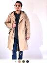 ヒューストン HOUSTON ジャケット モッズコート メンズ レディース 大きいサイズ M-51 アウター パーカー 青島コート 踊る大捜査線 米軍 ミリタリー ビジネス カジュアル 5409A 夏