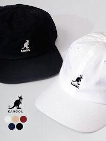 KANGOL カンゴール 帽子 キャップ メンズ レディース ユニセックス おしゃれ ブランド Washed Baseball ウォッシャブル ベースボール 6パネル ローキャップ ワンポイント ストリート スポーツ K5165HT 100169220 運動会 文化祭 学園祭 ダンス