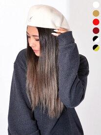 KANGOL カンゴール ハンチング ウール 帽子 メンズ レディース ユニセックス ベレー帽 ブランド 大きいサイズ かわいい かっこいい おしゃれ WOLL 504 定番 BACK TO FRONT 大きいサイズ ストリート スケーター トレンド 0258BC 197-169001 107-169001