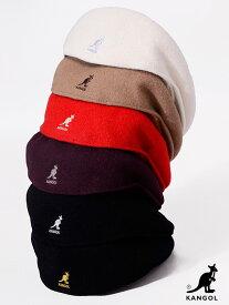 KANGOL カンゴール ハンチング ウール 帽子 メンズ レディース ユニセックス ベレー帽 ブランド 大きいサイズ かわいい かっこいい おしゃれ WOLL 504 定番 BACK TO FRONT 大きいサイズ ストリート スケーター トレンド 0258BC 197-169001 クリスマス プレゼント ラッピング