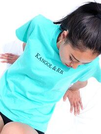 【ゆうメール便送料無料】KANGOL カンゴール Tシャツ メンズ レディース 半袖 ブランド 大きいサイズ ゆったり スポーツ カジュアル おしゃれ かわいい 綿100% ロゴ オリジナル ペールトーン ネオン シャーベット カラー ARKG-2102 ハロウィン ギフト プレゼント ラッピング