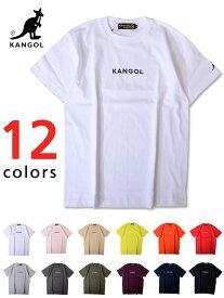 KANGOL カンゴール Tシャツ メンズ レディース ユニセックス 半袖 ブランド 大きいサイズ ビッグシルエット スポーツ 綿100% おしゃれ 白 黒 ベージュ ピンク オレンジ ペールトーンカラー ネオンカラー ストリート ARKG-902 ハロウィン ギフト プレゼント ラッピング