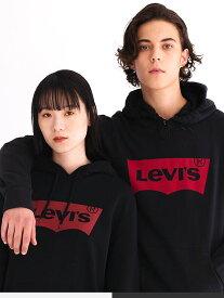 LEVI'S リーバイス パーカー プルパーカー レディース メンズ ユニセックス ブランド おしゃれ ロゴ バットウイング ステッチ LEVIS Levi's スウェットシャツ ダンス スポーツ ストリート ペアルック 19622-0018-0005-0003 夏休み プレゼント ギフト ラッピング
