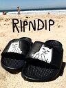 RIPNDIP リップンディップ サンダル シャワーサンダル ネコ 猫 LORD NERMAL SLIDES Rip N Dip Fuck Cat ファックキャ...
