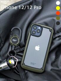【12/12Pro】ROOT CO ルートコー スマホケース iPhone12 12pro ケース おしゃれ アイフォン メンズ レディース ユニセックス 男女兼用 GRAVITY Shock Resist Tough & Basic Case アウトドア 耐衝撃 クリア バンパータイプ GST-4371 お正月 ギフト プレゼント ラッピング