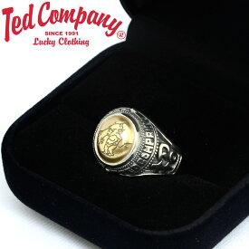 テッドマン TEDMAN 指輪 リング シルバー ゴールド TCR-02 敬老の日 プレゼント ギフト ラッピング
