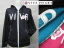 【春夏モデル】VIVA HEART replie フルジップパーカー54311【あす楽/ビバハートリプリエー/レディース/2012年貼る夏】