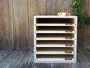 白 スライドボード 木製書類ケース A4サイズ対応 カルテケース
