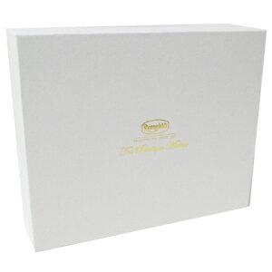 ロンネフェルト ギフトボックスL 箱 ギフト箱 贈り物 空箱 詰め合わせ 選ぶ ホワイト 紅茶 アソート のし紙 ラッピング 贈答 内祝 御祝 結婚 包装 リポン 高級 ブランド 組み合わせ ボックス